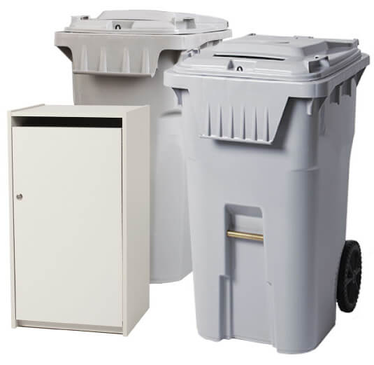 Secure Shredding Containers